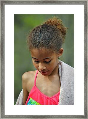 Simplicity Framed Print by Azy Foley Photography
