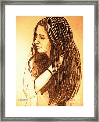 Simplicty Framed Print by Justin Moore