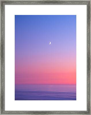 Simplistic Wonders Of The Earth Framed Print by Darren  White