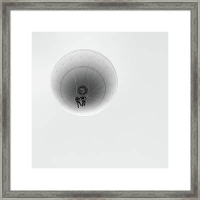 Simply Balloon Framed Print