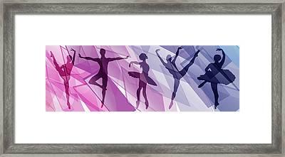 Simply Dancing 1 Framed Print