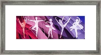 Simply Dancing 2 Framed Print