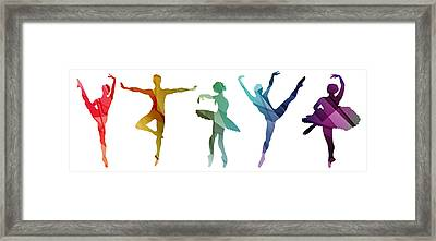 Simply Dancing 3 Framed Print