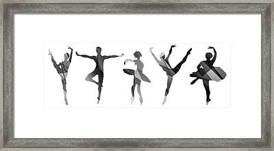 Simply Dancing 4 Framed Print