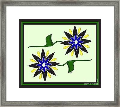 Simply Flowers Framed Print by Linda Seacord