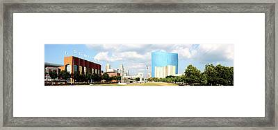 Simply Indy Framed Print
