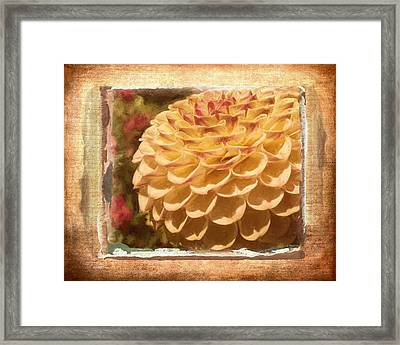 Simply Moments - Flower Art Framed Print