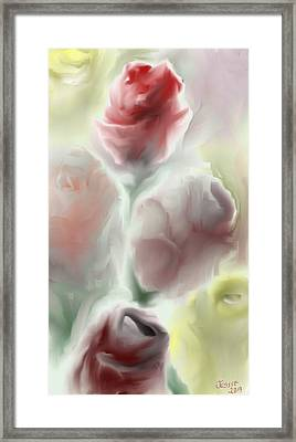Simply Roses Framed Print by Jessica Wright