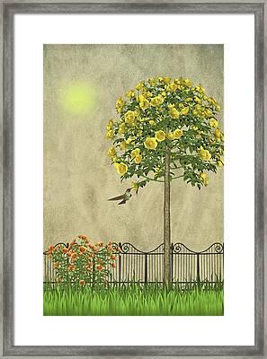 Simply Spring Framed Print