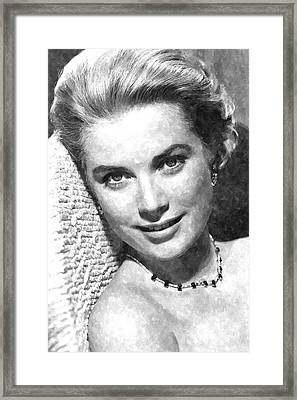Simply Stunning Grace Kelly Framed Print