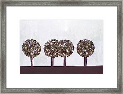 Simply Tree's Framed Print by Lew Griffin
