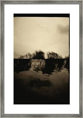Simulacrum -10.6.7 Framed Print by Alex Zhul