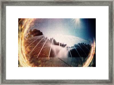 Simulacrum -3.7 Framed Print by Alex Zhul