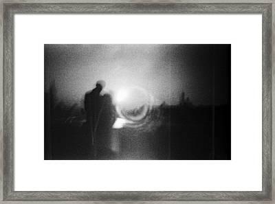 Simulacrum -4.1 Framed Print by Alex Zhul