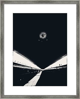 Simulacrum -6.5 Framed Print by Alex Zhul
