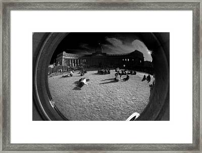 Simulacrum -9.8 Framed Print by Alex Zhul