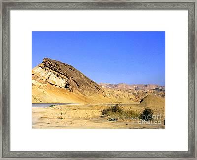 Sinai Desert  Framed Print by Jason Sentuf