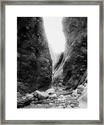 Sinai Wadi Isla, C1905 Framed Print