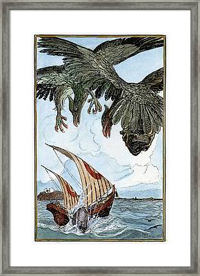 Sinbad The Sailor, 1898 Framed Print
