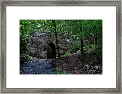 Since 1802 Poinsett Bridge Framed Print