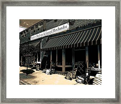 Since1900 Framed Print by Steve Godleski
