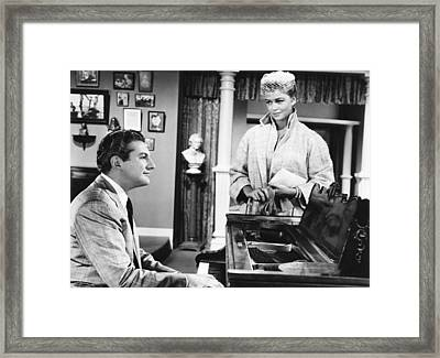 Sincerely Yours, From Left Liberace Framed Print by Everett