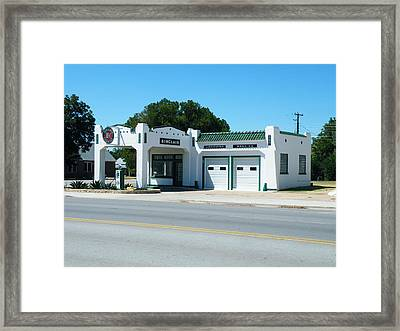 Sinclair Station Framed Print