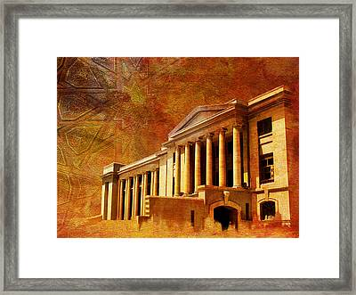 Sindh High Court Framed Print by Catf