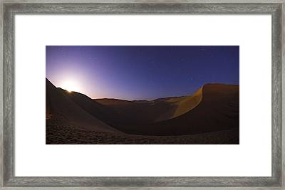 Sine Curve Framed Print by Aaron Bedell