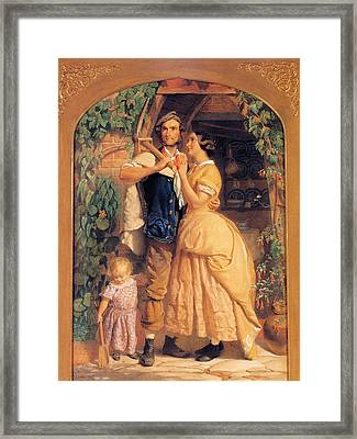 Sinews Old England Framed Print by George Elgar Hicks