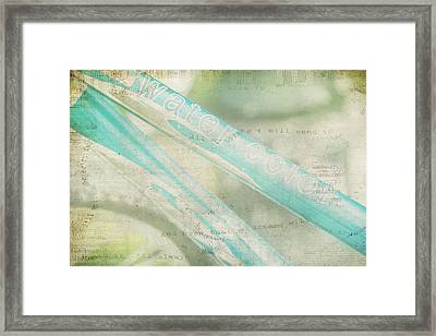 Sing As You Pedal Framed Print by Toni Hopper