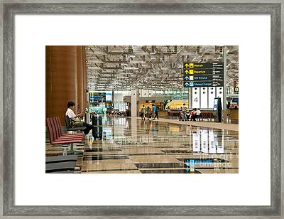 Singapore Changi Airport 01 Framed Print by Rick Piper Photography