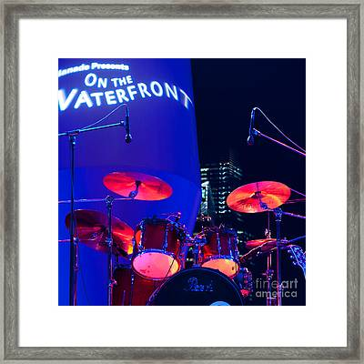 Singapore Drum Set 01 Framed Print by Rick Piper Photography