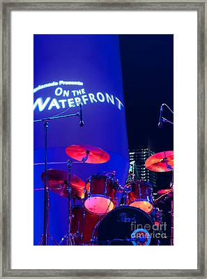 Singapore Drum Set 02 Framed Print by Rick Piper Photography