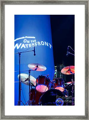 Singapore Drum Set 03 Framed Print by Rick Piper Photography