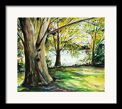 Lake Singeltary Framed Prints