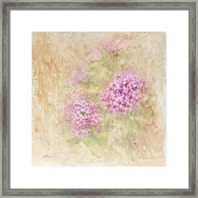Singing My Song Framed Print