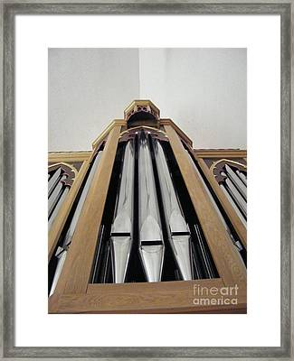 Singing Pipes Framed Print