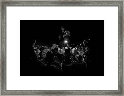 Singing To The Night Framed Print