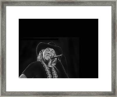 Singing Willie Framed Print