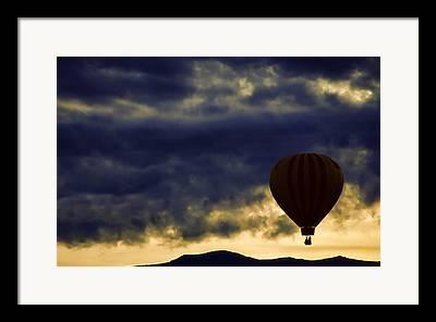 Balloon Fiesta Framed Prints