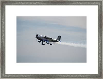 Framed Print featuring the photograph Single Rv8tor Sunderland Air Show 2014 by Scott Lyons