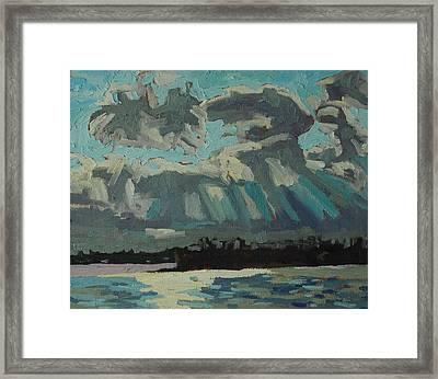 Singleton Cold Front Framed Print
