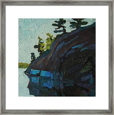 Singleton South Shore Framed Print