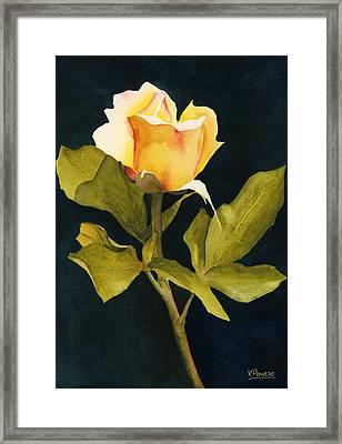 Singular Beauty Framed Print