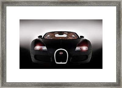 Sinister Bugatti Framed Print by Peter Chilelli