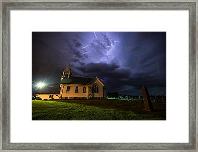 Sinners Welcome Framed Print by Aaron J Groen