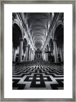 Sint Walburgakerk Framed Print by Joan Carroll