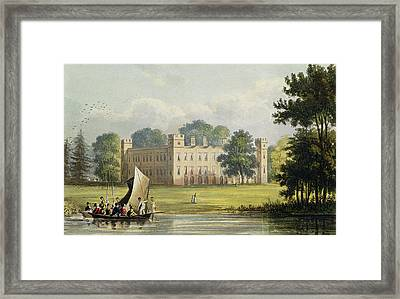 Sion House, From R. Ackermanns Framed Print by John Gendall