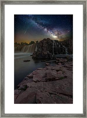 Sioux Falls Dreamscape Framed Print by Aaron J Groen